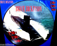"12"" - Bruce Dickinson (Iron Maiden) Dive! Dive! Live! (VINYL PICTURE DISC) NEW"