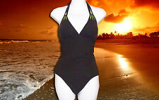 NWT GOTTEX BROWN 2 piece HALTER TANKINI SWIMSUIT BATHING SUIT size - 8