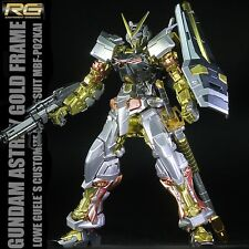 BANDAI RG 1/144 #19 Astray Red Frame Gundam Gold Electroplate Colour Model Hobby