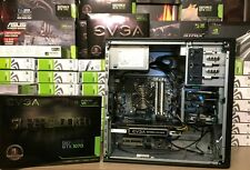 VR 3.9GHz Desktop Gaming PC Intel i7 3770 16GB NVIDIA EVGA 1070 GTX SC SSD WiFi