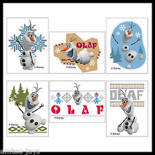 Frozen Tattoos x 12 pieces Kids Birthday Supplies - Loot Bag - Olaf Design/Party