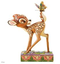 Disney Traditions Wonder Of Spring Bambi Resin Figurine Collectable Gift Box