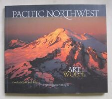 PACIFIC NORTHWEST Land of Light & Water Art Wolfe Brenda Peterson Large PB BOOK
