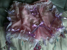 Pink Chiffon Bloomer Granny Pants Sissy CD TV