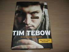 Brand New Tim Tebow Through My Eyes Hardcover Book w Dust Jacket Nathan Whitaker