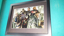 Suicide Squad Cast Signed 8x12 Photo Auto with COA Framed Margot Robbie