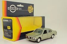 Gama Mini Serie Nr 894 BMW 733i in 1115 OVP Präzisionsmodell 1:45