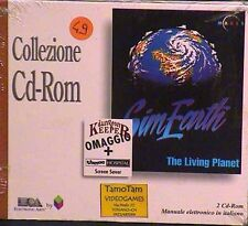 SIM EARTH pc cd rom NUOVO SIGILLATO the living planet giochi simulatore