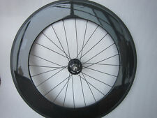 carbon track clincher bike wheel 88mm,only rear wheel,fixed gear