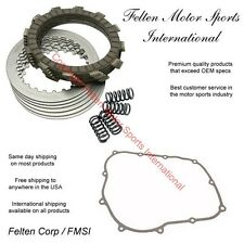 Honda XR650L Clutch Kit Set Discs Disks Plates Springs Gasket XR 650 650L 93-99