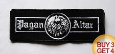 PAGAN ALTAR WT PATCH BUY3 GET4,JEX THOTH,BLOOD CEREMONY,COUNT RAVEN,CIRITH UNGOL