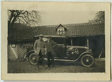 PHOTO ANCIENNE - TRACTION VOITURE HOME - CAR MAN - Vintage Snapshot