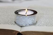 New Small Swarovski Crystal Filled Tea Light Candle Holder