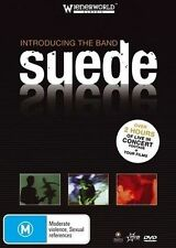 Introducing the Band Suede new Sealed region 4 dvd stock Perth