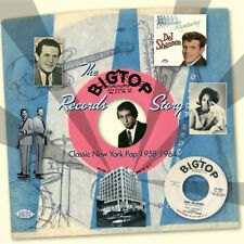 """THE BIG TOP RECORDS STORY  """"CLASSIC NEW YORK POP 1958 - 1964""""  26 CLASSIC TRACKS"""