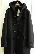 BNWT TOM FORD black 100% wool Duffle coat parka 50 IT - 40 US $5,190!