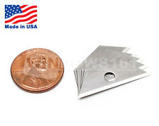 Mini Utility Knife Replacement Razor Blades (10 PACK) Made in USA - FREE SHIP!