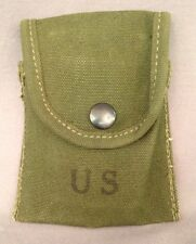 NOS Vietnam US Army USMC M1956 First Aid / Compass Case Pouch 1960