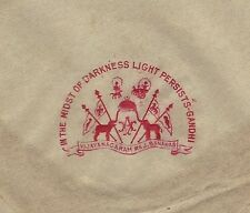 In the midst of Darkness Light persists GANDHI 1940s Vijaynagar crest cvr India