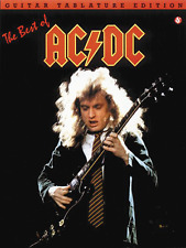 """AC/DC """"THE BEST OF"""" GUITAR TABLATURE EDITION MUSIC BOOK-BRAND NEW ON SALE-TAB!!"""