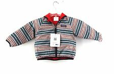 NWT Patagonia 2t Reversible Puff Ball Jacket Coat Red Toddler Patterned