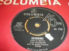 SHADOWS - GERONIMO / SHAZAM = PYE CONTRACT PRESSING