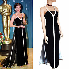 BNWOT BERNSHAW black 2001 Oscars Julia Roberts red carpet DRESS size 10 6 42