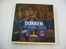 DOKKEN - ORIGINAL ALBUM SERIES - 5CD BOX SIGILLATO 2009