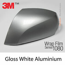 10x20cm FILM Gloss White Aluminium 3M 1080 G120 Vinyle COVERING Car Wrapping