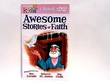 AWESOME STORIES OF FAITH 1 HR DVD 8 Stories Read by Max Lucado 11 SONGS NEW