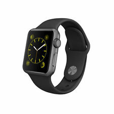 Apple Watch Sport 38mm SPACE GREY CUSTODIA IN ALLUMINIO, NERO SPORT FASCIA