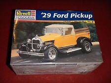 1/25 Revell Monogram 1929 Ford Pickup Car Model Kit  #7555 (1995) New In Box.