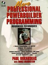 More Professional PowerBuilder Programming : Advanced Techniques by Paul...