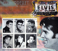 Elvis Presley Artist Of The Century UMM Stamp Sheet (Granada/Carriacou)