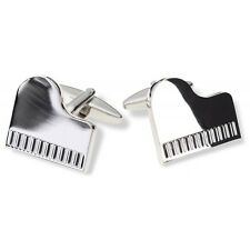 Piano Cufflinks with Gift Bag - Perfect Birthday/Christmas Gift - DC0026