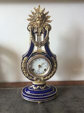 A Stunning Marie Antoinette Mantel Clock By Franklin Mint for the V&A museum