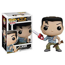 FUNKO POP 2014 MOVIES ARMY OF DARKNESS ASH #53 Sealed Box IN STOCK