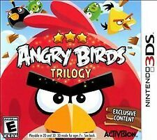 Angry Birds Trilogy GAME Nintendo 3DS 3 2 2DS **FREE SHIPPING!!