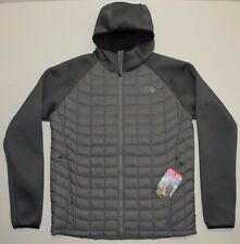 The North Face Men's Upholder Thermoball Hybrid Jacket Winter Coat Gray Sz M NEW