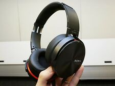 Sony MDR-XB950AP Overhead Headphones- Black. With Mic. EXTRA BASS. JACK REPLACED