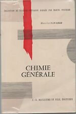 CHIMIE GENERALE MAURICE RAVAILLE ED. BAILLIERE COLL. SCIENCES PHYSIQUES 1966