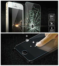 Premium Real Tempered Glass Screen Protective Film Guard fr Apple iPhone 5S 5 PA