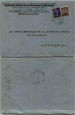 RSI-Busta S.ROCCO AL PORTO 27.10.1944-RECAPITO AUTORIZZATO+Monumenti distrutti