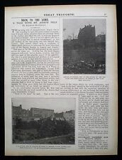 JOSEPH FELS VACANT LOTS BROWNFIELD WASTE LAND URBAN PLANNING 1pp ARTICLE 1909