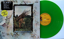 Led Zeppelin IV 4 ZOSO GREEN Color VINYL LP Import NEW Unplayed