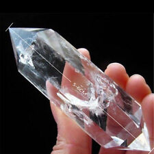 1pcs 100% Natural Rock Clear Quartz Crystal DT Wand Point Healing 5-6cm Hot AAA