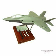 "Airplane USAF F-35A JSF/CTOL Jet Fighter 12"" Wooden Desktop Model  Aircraft"