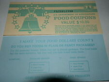 Original Vintage Food Stamp Booklet Covers front and back $10.00 VG Cond