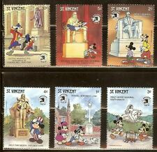 Mint Disney St Vincent cartoons stamps  (MNH)