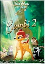 Bambi 2 Disney DVD [ English + Spanish + Portuguese ]